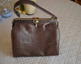 Genuine Lizard Handbag from Sterling
