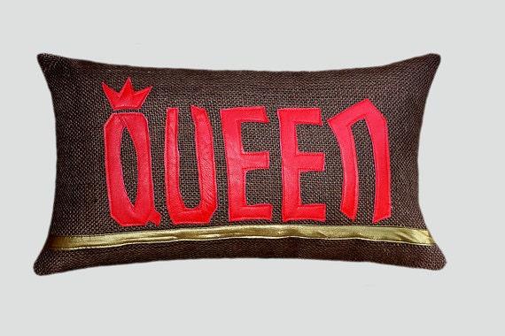 Brown Textured Throw Pillow : Decorative Pillow case Burlap Brown textured Lumbar pillow