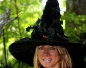 Witch Hat Spider Glam