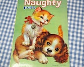 our naughty pets, vintage 1970s rare children's book