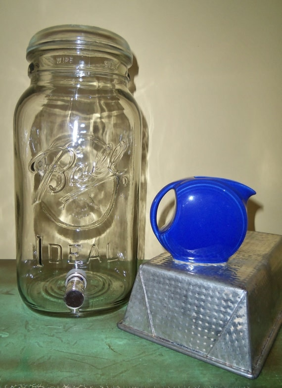 Vintage Ball Jar Drink Dispenser
