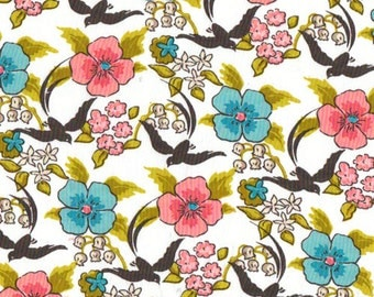 Cloud 9 Maman Chinoiserie Organic Cotton fabric, 1 yard