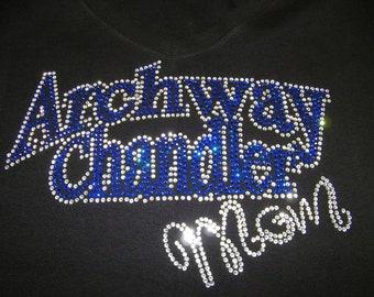 "Adult - ""Bling"" Archway Chandler Mom Rhinestone Shirt/Tank"