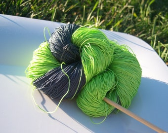 Size 20 or 40 - Lizbeth Tatting Thread -  Hand Dyed - Frankenstein - Your Choice of Amount - HDT