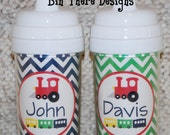 Personalized Spill Proof Sippy Cup - Train