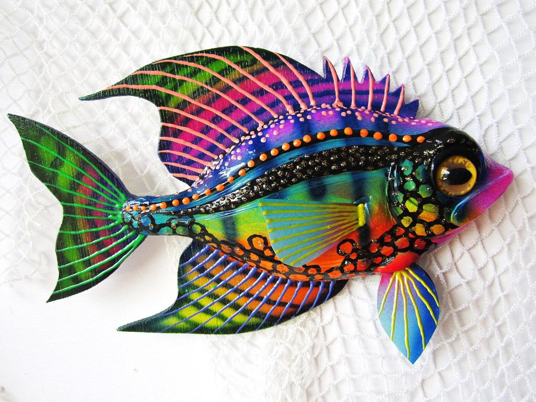 Fish art wall sculpture for Fish wall art