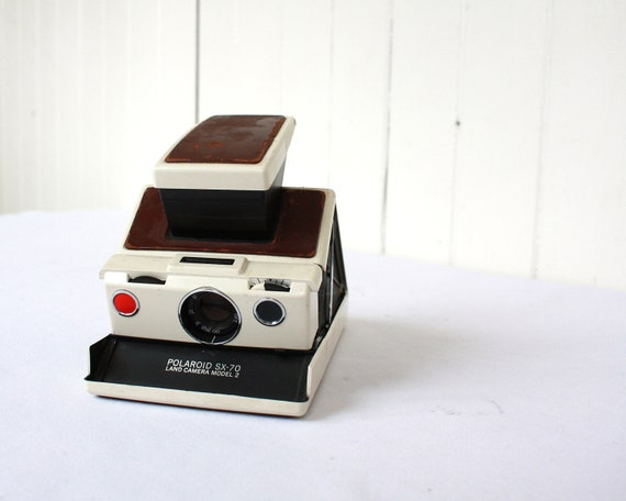 Polaroid SX-70 Land Camera, Vintage Polaroid Camera, SX-70 Model 2, Polaroid SX-70 Camera, Photography, Travel