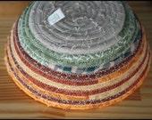 Autumn Fall / Pumpkin Palette Fabric Coil Bowl Basket 2