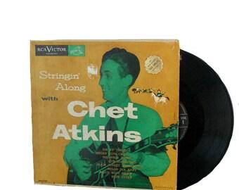Rare Vintage Chet Atkins Stringin' Along With - 33 1/3