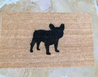 French Bulldog Door Mat