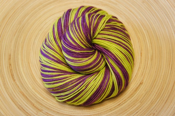Ferb in Toula, Self Striping 80/20 SW Merino and Nylon