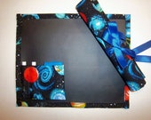 Planetary Travel Chalkboard For Kids/Placemat