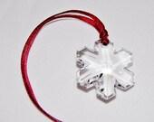 Swarovski snowflake Christmas decoration