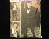 Simplicity pattern 4482 rare out of Print Phanton of the Operah Tuxedo costume Mens XS-XL