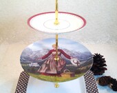 FIGHT LIKE A GIRL Salzburg Sweetheart 3 Tier Cake Stand