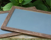 Chalkboards Signs Set Of 2, 7 X 10