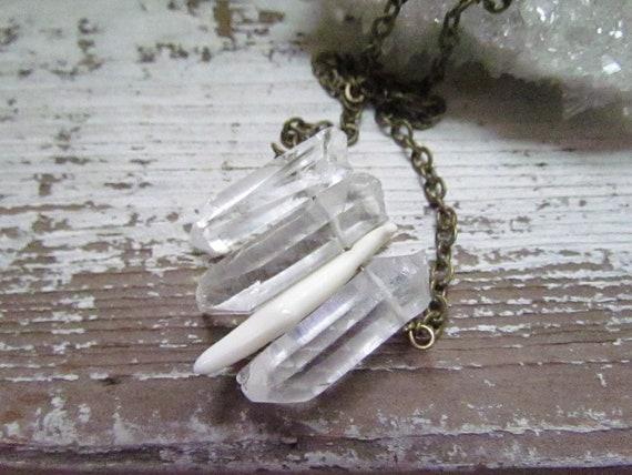 Raw Crystal Layering Necklace