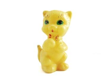 Yellow cat plastic CAT
