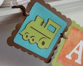 All Aboard Banner, Train Bannerr, Train Birthday Party, Train Decorations, All Aboard,