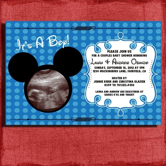 Mickey Mouse Baby Shower Invitations Printable correctly perfect ideas for your invitation layout