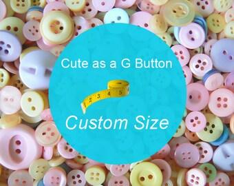 Custom Size, Children's G Tube Belly Band Wrap