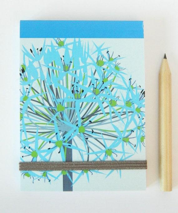 allium notebook by Jane Crick