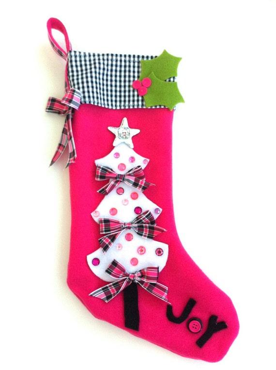 Little Girls Christmas Stocking