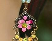 Istanbul Chandelier earrings -207716-4416 Orly Zeelon
