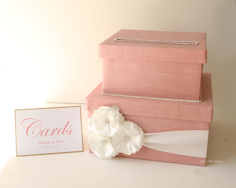 Card Gift Box Wedding: Wedding Card Box Money Box Gift Card Box Custom Card Box