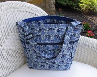 Baby Boy Handmade READY-TO-SHIP Diaper Bag  / Toddler Diaper Bag