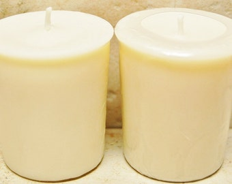4 Pack Unscented Soy Votives 2 oz