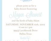 Einladung Zur Babyparty Boy