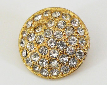 Rhinestone Button 19mm (1)
