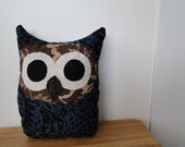 Owl Plush-Dark Forest Huuu