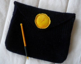 Felted Sweater iPad Case with suns