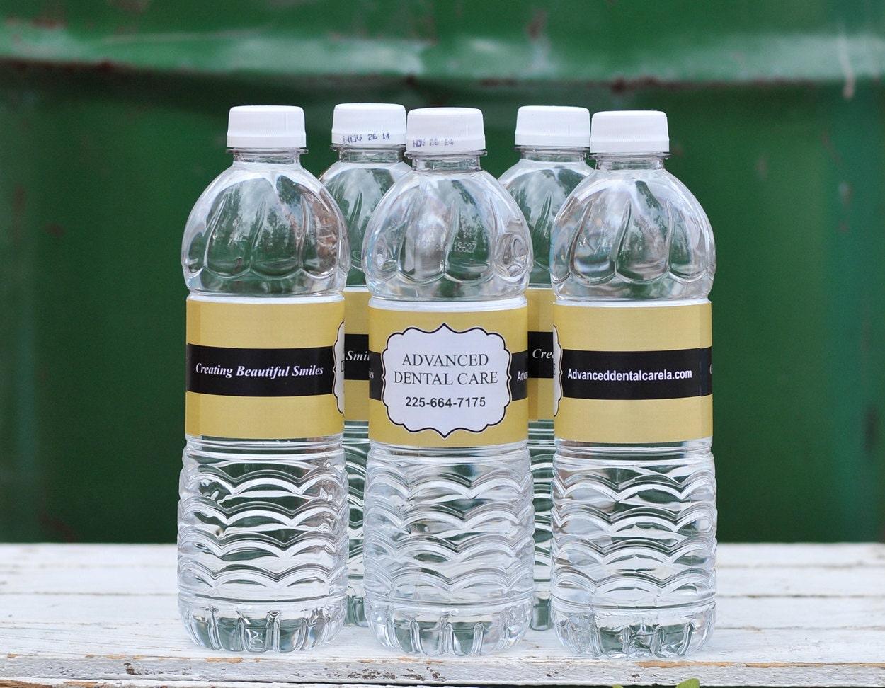 Custom Listing Birthday Design 20 Waterproof Water Bottle