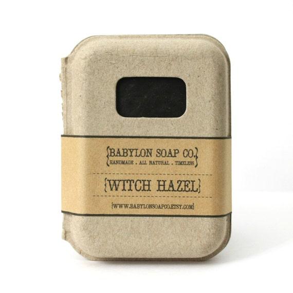 how to make witch hazel soap