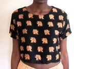 Vintage Abroad Cropped Top
