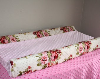 Deluxe Rose Garden and Minky or All Rose Garden Contour Changing Pad Cover