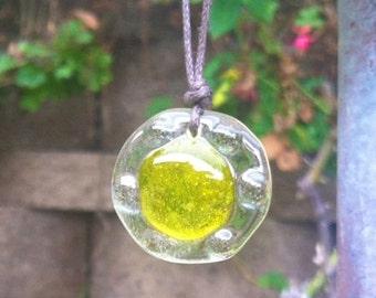 Solar Plexus Chakra Orb Necklace