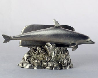 Dolphin Business Card Holder