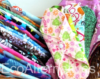 The Committed to Cloth Stash Set of 22 Reusable Cloth with Bonus Wet bag