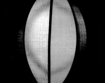 Illumination, Lantern, Black and White 8x10 Fine Art Photograph