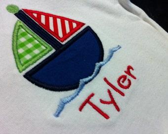 Sailboat Shirt for Kids