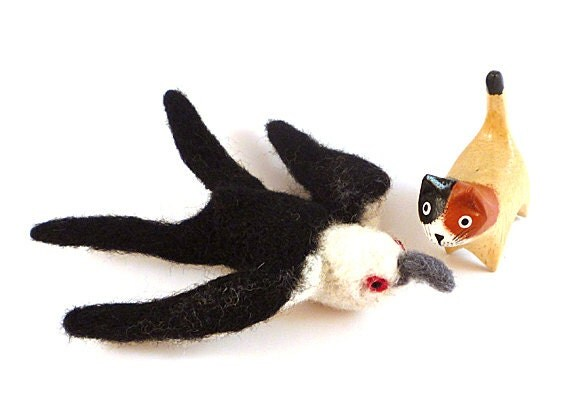 RESERVED for S.G. - Swallow Tailed Kite Catnip Cat Toy