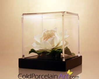 White Water Lily - Cold Porcelain Art - Made to Order