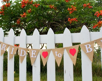 Bride to Be Banner - Bride to Be Sign - Bridal Shower Decorations - Bridal Shower Banner - Bachelorette Banner - Bachelorette Decor