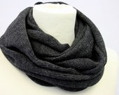 SALE - Mens Cowl Grey Knit