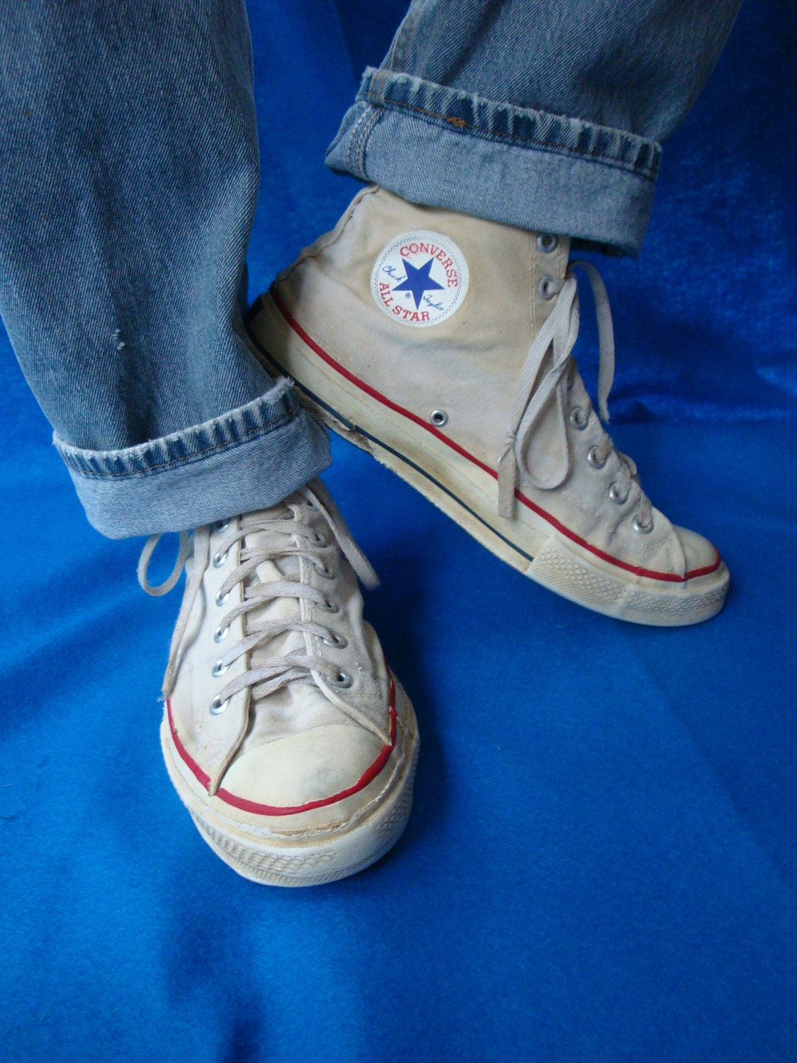 Vintage 60s Converse Chuck Taylor High Top All Star Sneakers