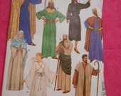 McCalls 2066,  shepards, kings, angel, mary, joseph, Jesus, costumes, size EX- Small, adult